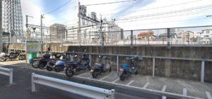 スカイツリー前バイク駐車場