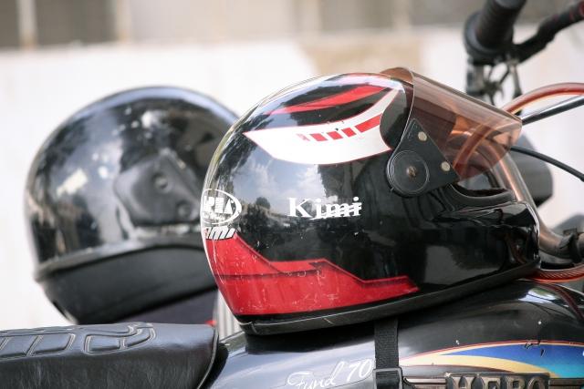 バイク用のヘルメットを処分するにはどうすればいいの?