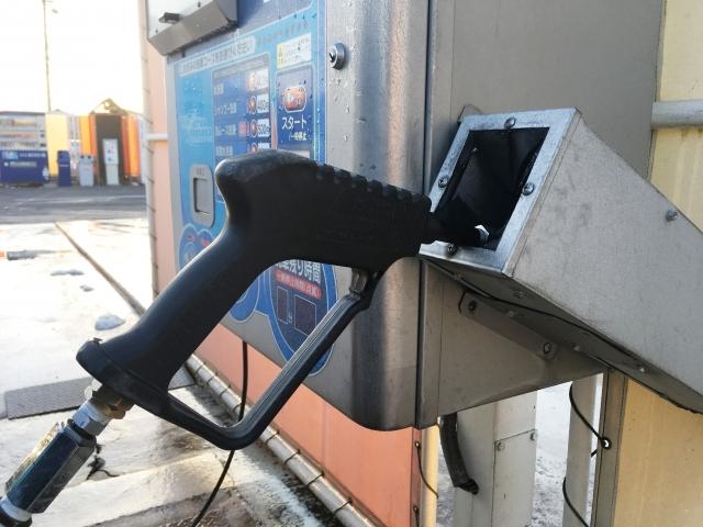 バイクを高圧洗浄機で洗車するときの注意点